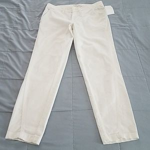 NWTS ANTHROPOLOGIE RELAXED CHINOS. SIZE 25